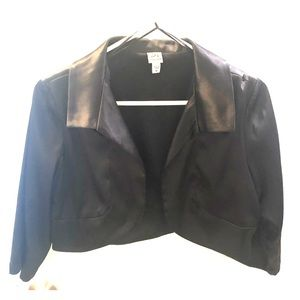 Short Satin Jacket